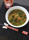 スリラチャの簡タンタン麺