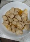 下味冷凍・鶏胸肉の生姜酢漬け