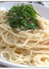 明太子のクリームスパゲティ