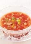 【ガスパチョ】トマトの冷製スープ