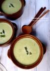 アスパラガスのミルクスープ