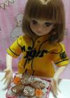 リカちゃんサイズ♡野球シリꕤ楽天*牛タン