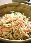 パリパリ食感♪切干大根の中華風サラダ