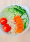 無水調理!フライパンで簡単温野菜サラダ
