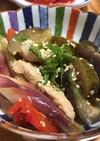 鶏胸肉と夏野菜の酢煮