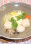 豆腐と肉だんごのトロトロ煮