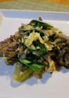 豚肉とニラの卵炒め☆美味しい簡単メニュー