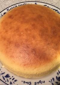 簡単ふわふわスフレチーズケーキ