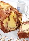 マーブルパウンドケーキ【紙型での作り方】
