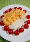簡単!蒸し鶏のタルタルキムチサラダ
