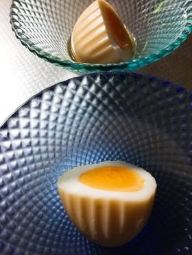 しましまゆで卵漬け
