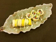 【野菜ソムリエ】ズッキーニロール寿司の写真