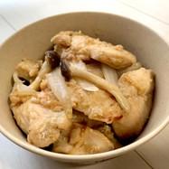 鶏胸肉の味噌ゴマ漬け
