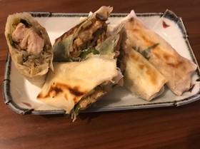 揚げない春巻き〜チキン高菜とエビ味噌