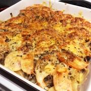 簡単!ポテトとトマトの挽き肉グラタン☆の写真