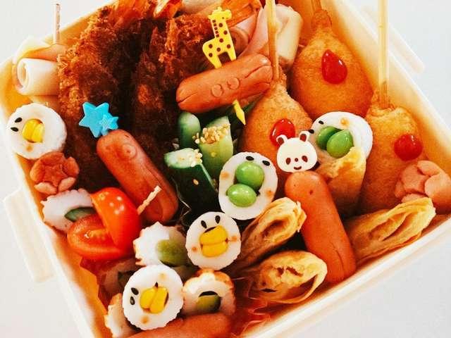 簡単ピクニックお弁当覚書☆