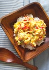朝食&ランチに♡カニ玉サラダ丼