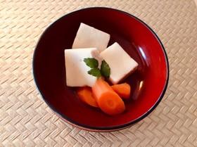 身体に優しい 高野豆腐の含め煮