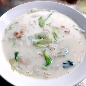 ダイエットに♪簡単美肌豆乳スープ