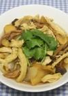 乾燥しめじと鶏肉でエスニックカレースープ