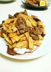 牛肉と筍のオイスターソース炒め
