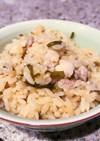 塩昆布で簡単炊き込みご飯