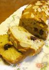 HM簡単☆ヘルシーフルーツパウンドケーキ