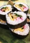 うちの巻き寿司(太巻き)