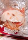 メカジキのホイル焼き ガーリック醤油味