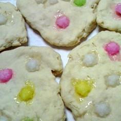 ベルギーワッフル風スコーン風クッキー