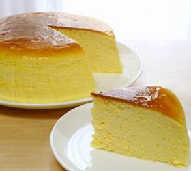 しっとりふわふわ*スフレチーズケーキ
