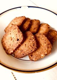 おからとチーズでフープロ糖質オフクッキー