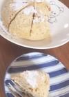 乳・小麦無し!レンジでおからバナナケーキ