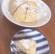 乳・小麦無し!レンジでおからバナナケーキの写真