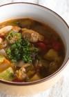 あさりと夏野菜たっぷりスープ