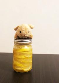 夏にピッタリすっきりレモンシロップ♪