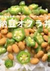 納豆オクラ丼★okane☆