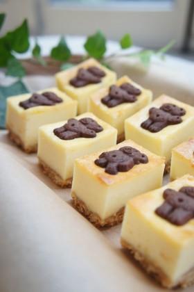 スクエア*ビスケットチーズケーキ