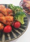 簡単焼き肉のタレで手羽元のオーブン焼き!