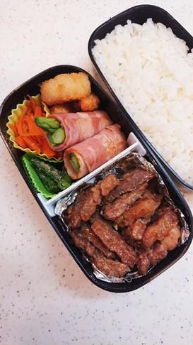 肉好き男子お弁当67