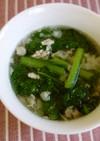 菜っ葉のスープ