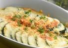 ズッキーニのチーズ焼きカレー風味☆