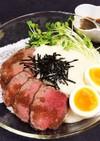 山かけ★ローストビーフ丼♡
