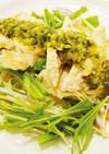 蒸し鶏のわさびソース【健幸惣菜〜夏飯〜】