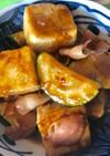 豆腐とズッキーニのさっぱり焼き