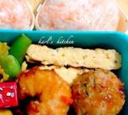 簡単お弁当用マヨ麺つゆプレーン卵焼きの写真