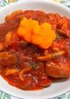 煮込むだけ 簡単 鶏もものトマト煮