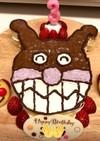 着色料なし!バイキンマン★ケーキ