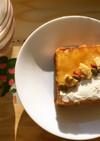 沖縄パインジャム&クリチのトーストアート