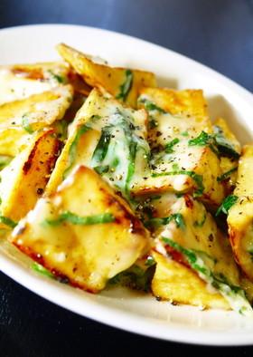 簡単★副菜!厚揚げの大葉チーズ焼き